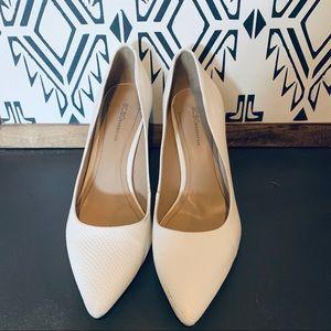 BCBGeneration white heels
